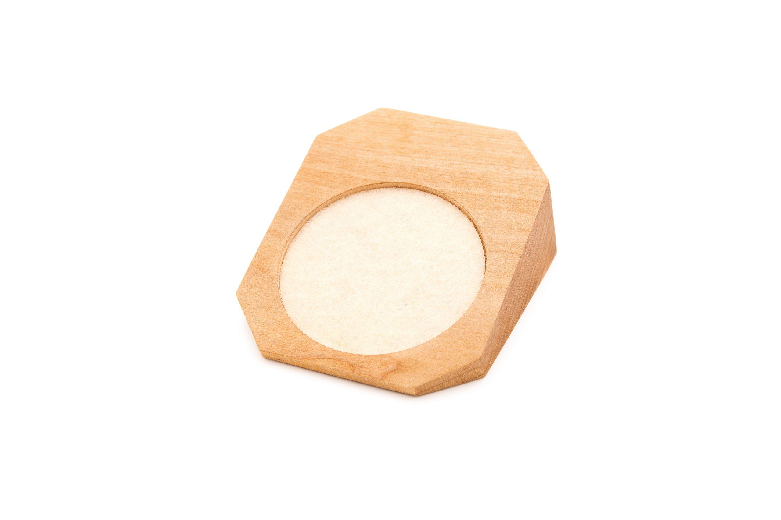Drewniany ekspozytor 70mm