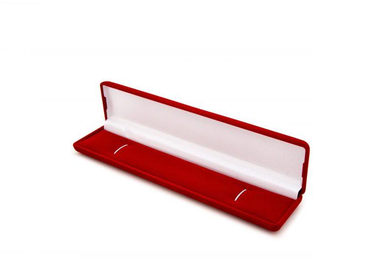 Etui flokowane na naszyjnik, bransoletę lub różaniec