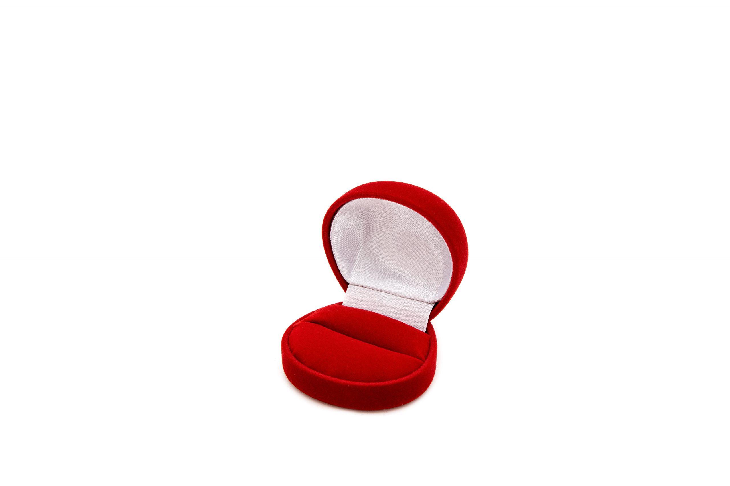 Etui flokowane na pierścionek