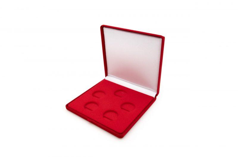 Etui flokowane na pięć monet