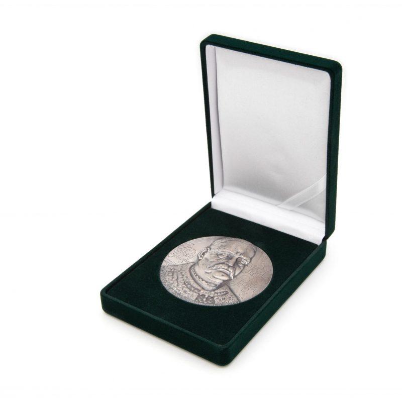 Etui flokowane na medal 70mm